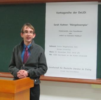 Simon Wagenschütz bei DeLiDi